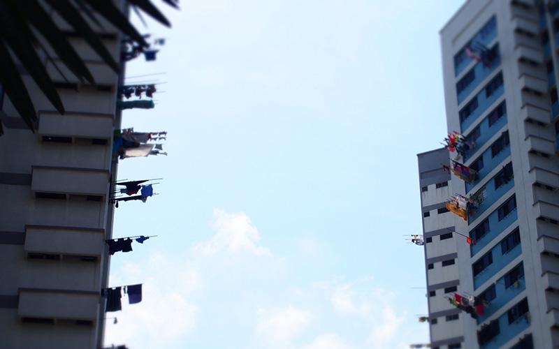 シンガポールの公団住宅HDB