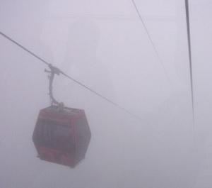 あっという間に霧に包まれてしまう事も。