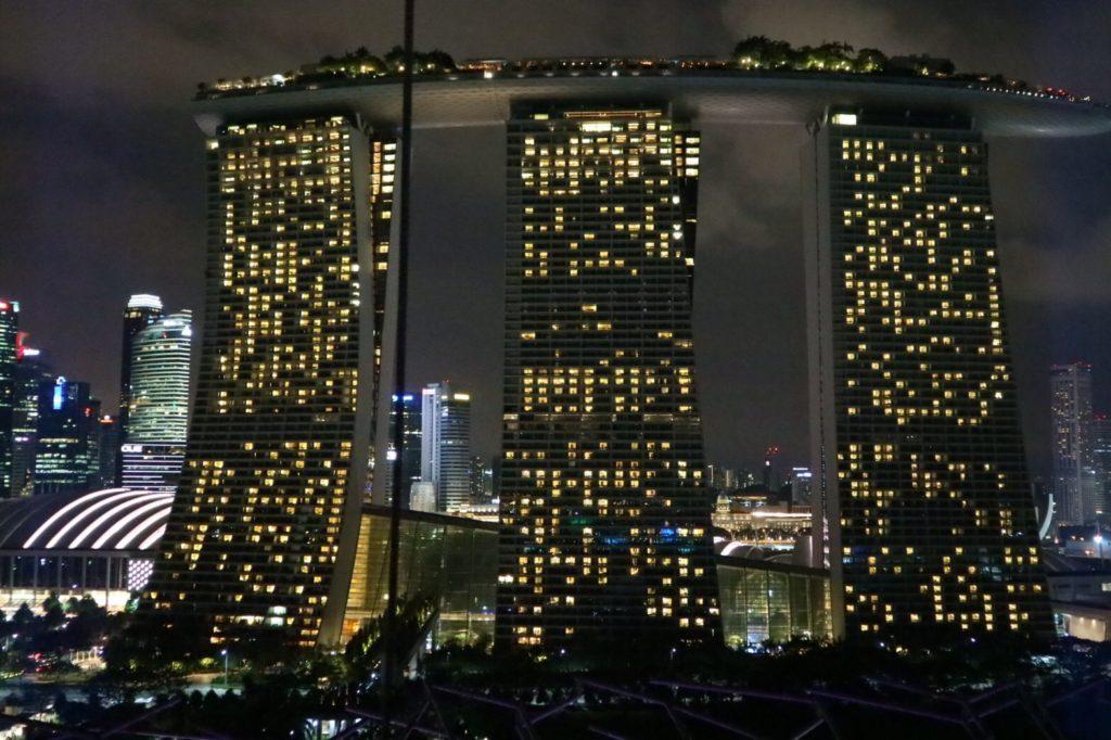 シンガポールのシンボル、マリーナベイサンズ