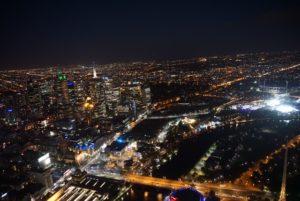 メルボルン夜景