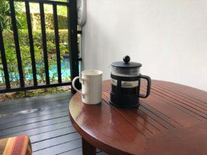 部屋のコーヒーがスリーインワンじゃない。。。感動しました