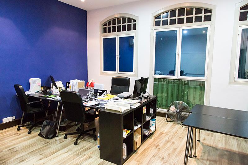 TAMSANのオフィス