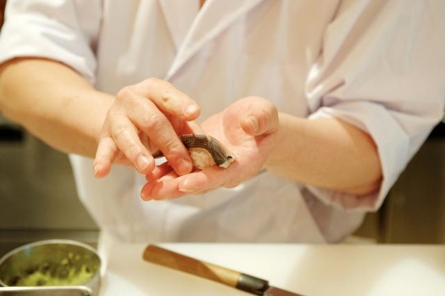 シンガポール転職で給与が上がる職業 その3.寿司職人