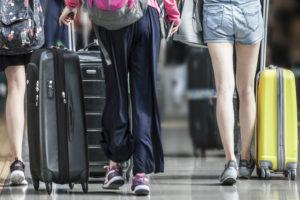 毎日多くの人で溢れるチャンギ国際空港
