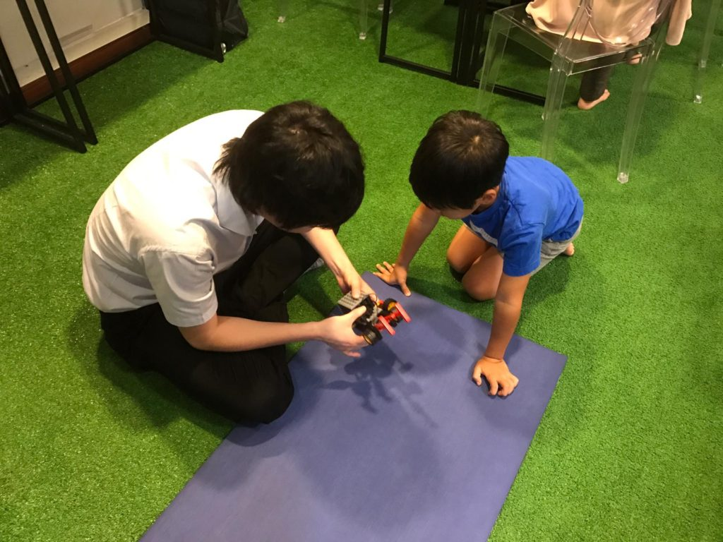 ロボット教室の様子